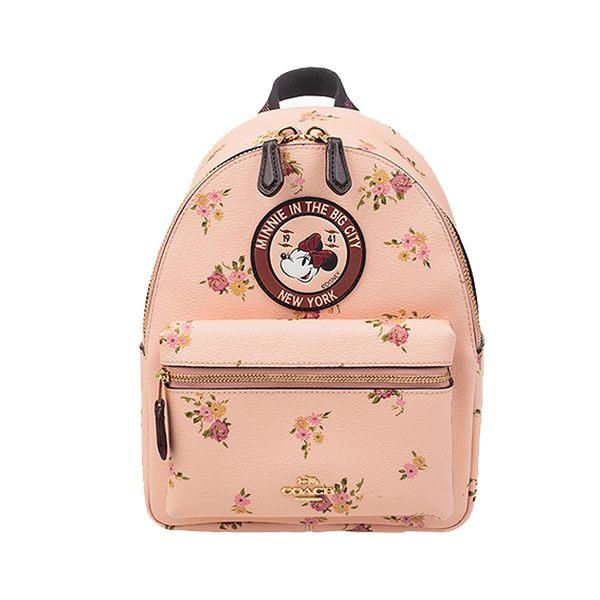 COACH  29354 MINI CHARLIE BACKPACK女士女包雙肩包迪士尼米老鼠書包