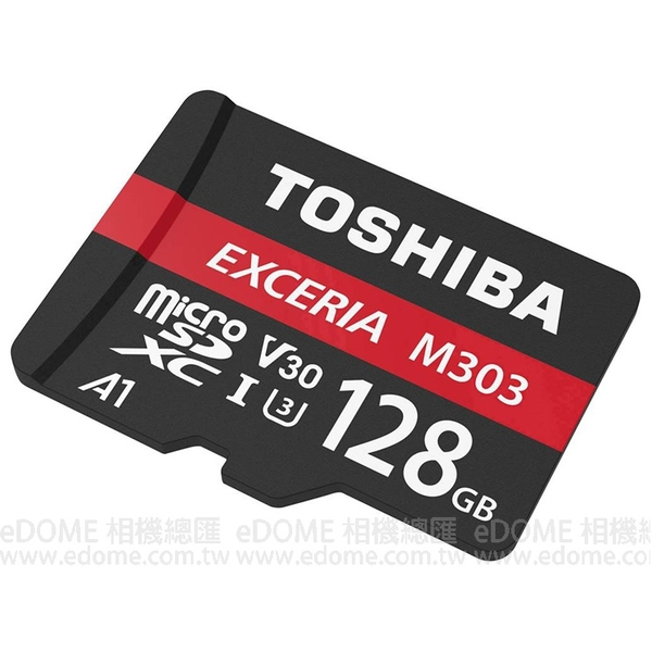TOSHIBA 東芝 micro SD SDXC 128GB U3 98MB/S 653X EXCERIA 附轉卡 (免運 富基電通公司貨) 128G THN-M303R1280A2