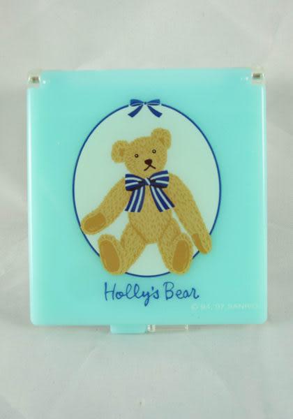 【震撼精品百貨】Holly's Bear 泰迪熊~三格置物盒『綠-方』