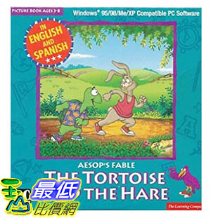 [106美國暢銷兒童軟體] TORTOISE AND THE HARE