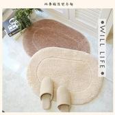 高密度超細地墊 進門長毛地毯浴室吸水腳墊 臥室門墊衛生間防滑墊YYP