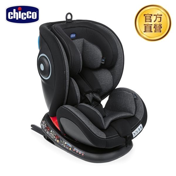 【新色上市】chicco-Seat 4 Fix Isofix安全汽座-駭影黑