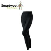 【美國 SmartWool 女羅紋緊身長褲《炭黑色》】SW010054/保暖長褲/內搭褲/衛生褲