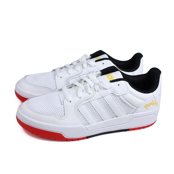 adidas ENTRAP 運動鞋 跑鞋 白色 男鞋 FX4025 no842