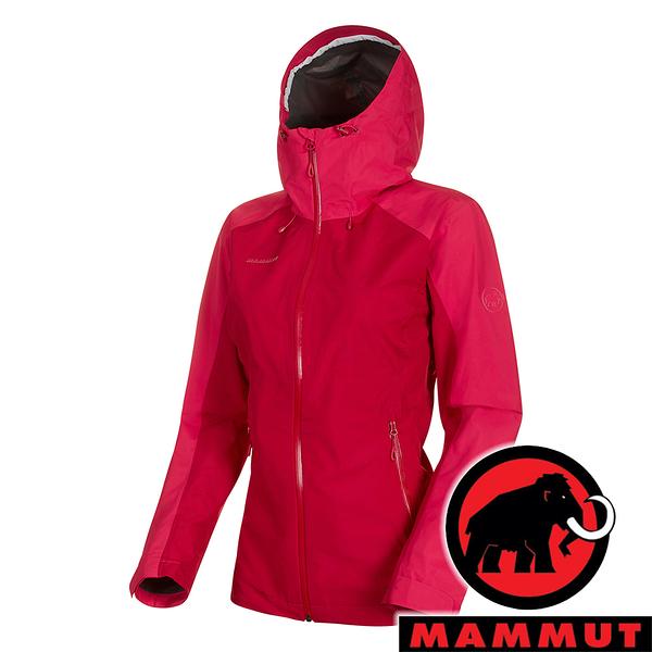 【MAMMUT 長毛象】女 Convey Tour 單件式GT連帽外套『速克達/火龍果』1010-26022 戶外 登山 保暖 禦寒