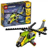 LEGO 樂高 Creator 3in1 Helicopter Adventure 31092 Building Kit (114 Piece)