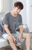 夏季男士睡衣短袖純棉青少年韓版睡衣男夏短袖短褲薄款家居服套裝 居享優品