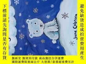 二手書博民逛書店The罕見Polar Bear and the Snow Clo