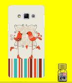 ✿ 3C膜露露 ✿ SAMSUNG GALAXY A7【情侶鳥*水晶硬殼】手機殼 手機套 保護殼 保護套