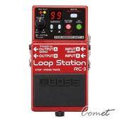 【樂句循環工作站】【Boss RC-3】 【RC3/效果器/Roland/吉他/貝斯/數位錄音】【Loop Station】