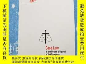 二手書博民逛書店case罕見law of the boards of appea