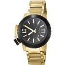 LICORNE 力抗錶 氚氣燈 黑金 女錶 LI095LTBA  對錶/免運