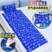 冰涼墊 夏季冰墊水床水席水床墊家用降溫水墊冰床墊zg