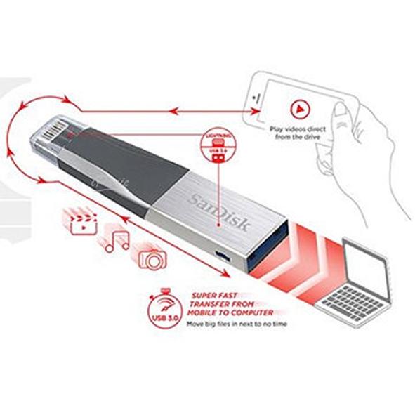 SANDISK iXpand Mini 64GB 隨身碟 原廠公司貨 蘋果隨身碟 手機隨身碟