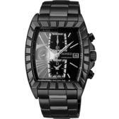【僾瑪精品】WIRED 超時空航行計時腕錶-黑x銀/36*38mm/7T92-X236N(AF8R01X)