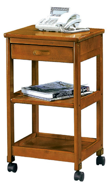 【 IS空間美學】實木三層單抽櫃