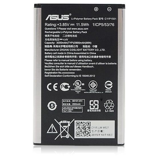 ASUS ZenFone Selfie C11P1501 原廠電池 ZenFone 2 Laser 5.5/ZE600/ZE601 全新原廠電池