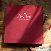 相冊diy手工紀念冊粘貼式創意情侶浪漫韓國可以寫字的拍立得影集
