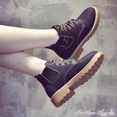 靴子 秋冬馬丁靴女英倫風正韓百搭加絨靴子女切爾西短靴女鞋子瑪麗蓮安