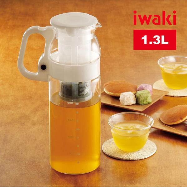【iwaki】日本品牌耐熱玻璃冷水壺-1.2L