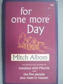 【書寶二手書T7/原文小說_JAT】For One More Day (English Edition)_MITCH A