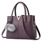 女士包包新款時尚潮韓版手提包2019大氣簡約斜挎單肩包中年媽媽包-ifashion