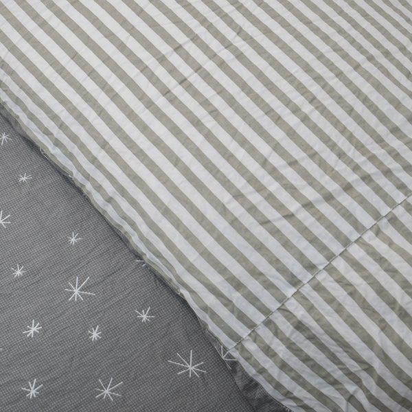 韓星 D3雙人床包雙人兩用被四件組 100%復古純棉 台灣製造 棉床本舖
