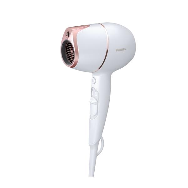 新機上市-飛利浦ADELE SENSE IQ 頂級智能溫控輕量護髮吹風機BHD628