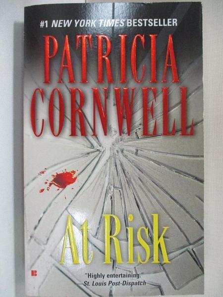 【書寶二手書T7/原文小說_A5L】At Risk_Cornwell, Patricia Daniels