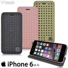 【默肯國際】Metal-Slim Apple iPhone 6 4.7 經典閃電紋圓點設計皮套 iPhone 6 4.7