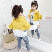 女童外套夏裝2019新款潮春夏中大童防紫外線防曬服兒童輕薄防曬衣