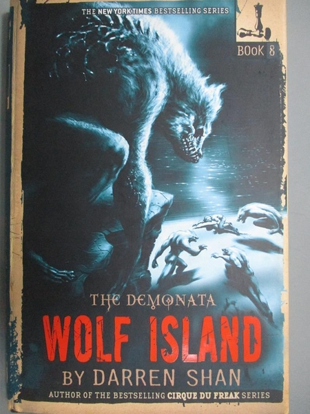【書寶二手書T4/少年童書_LPS】Wolf Island_Shan, Darren