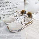 New Balance 574 男款 復古運動鞋 休閒鞋 D楦 ML574PO2 灰杏色 大尺碼【iSport愛運動】