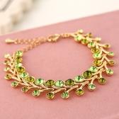 手鍊 玫瑰金純銀鑲鑽銀飾-繽紛閃耀生日情人節禮物女手鏈8色73ak58【時尚巴黎】