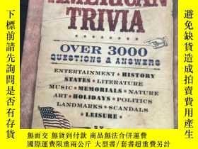 二手書博民逛書店美國歷史3000問罕見The Big Book of American Trivia Over 3000 Ques