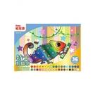 [PENTEL] 飛龍 GHT2-36 特大紙盒粉蠟筆(36色)