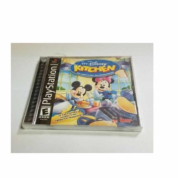 My Disney Kitchen (Sony PlayStation 1, 2002) ps1 new [2美國直購]
