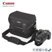 相機包 佳能EOS-R RP R5 R6專微相機包單肩包防水攝影包eos200d5D4保護套 快速出貨