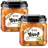 宗家府正統韓國泡菜1.2公斤(黑蓋)*2罐/組