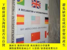 二手書博民逛書店A罕見Declaration of Interdependenc