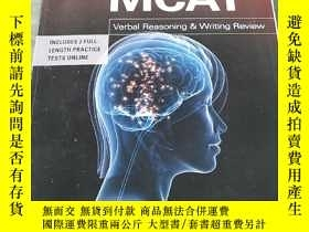 二手書博民逛書店MCAT:罕見Verbal Reasoning & Writin