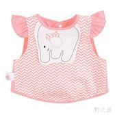夏無袖棉質薄款嬰兒反穿衣男童女童吃飯衣兒童罩衣圍兜zy468 【野之旅】 【野之旅】