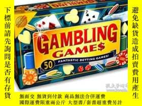 二手書博民逛書店Gambling罕見Games:50 FANTASTIC BET