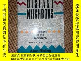 二手書博民逛書店DISTANT罕見NEIGHBORS:A Portrait Of