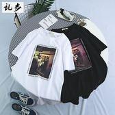 男t恤 韓版男裝 短袖T恤 男學生圓領上衣 【非凡上品】j193