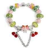 手鍊 串珠-琉璃飾品甜美可愛糖果色生日情人節禮物飾品72l182【時尚巴黎】