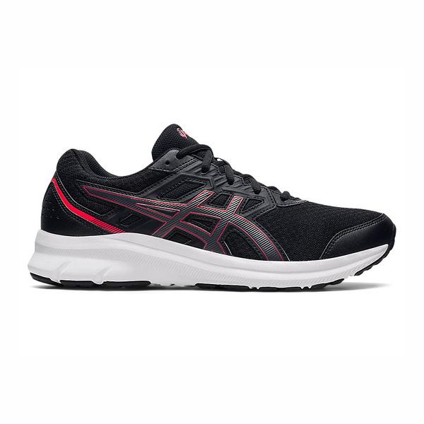 Asics JOLT 3(4E) [1011B041-006] 男鞋 慢跑鞋 超寬楦 透氣 舒適 緩震 亞瑟士 黑 紅