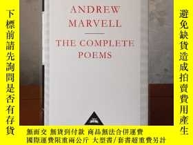 二手書博民逛書店The罕見Complete Poems Andrew Marvell 安德魯·馬維爾詩歌全集 everyman s