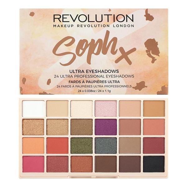 英國 Makeup Revolution Soph Eyeshadow Palette 24色眼影盤