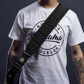 吉它帶加厚加寬海綿墊肩電貝司背帶木吉它背帶經典款 1件免運